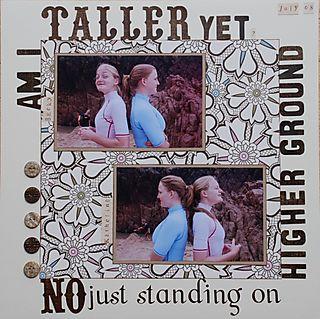 Am I taller yet