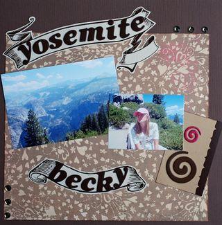 Yosemite--Becky